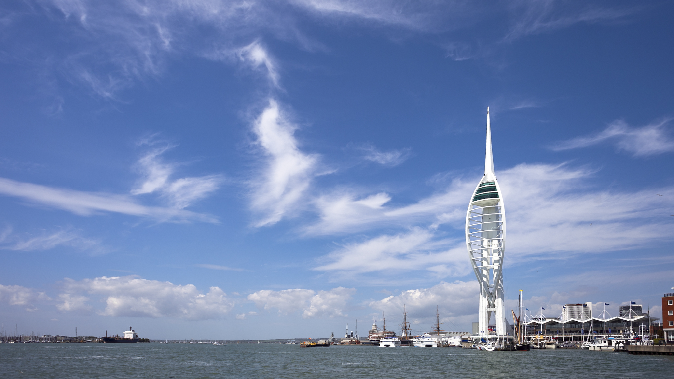 Portsmouth-Spinnaker Tower panorama