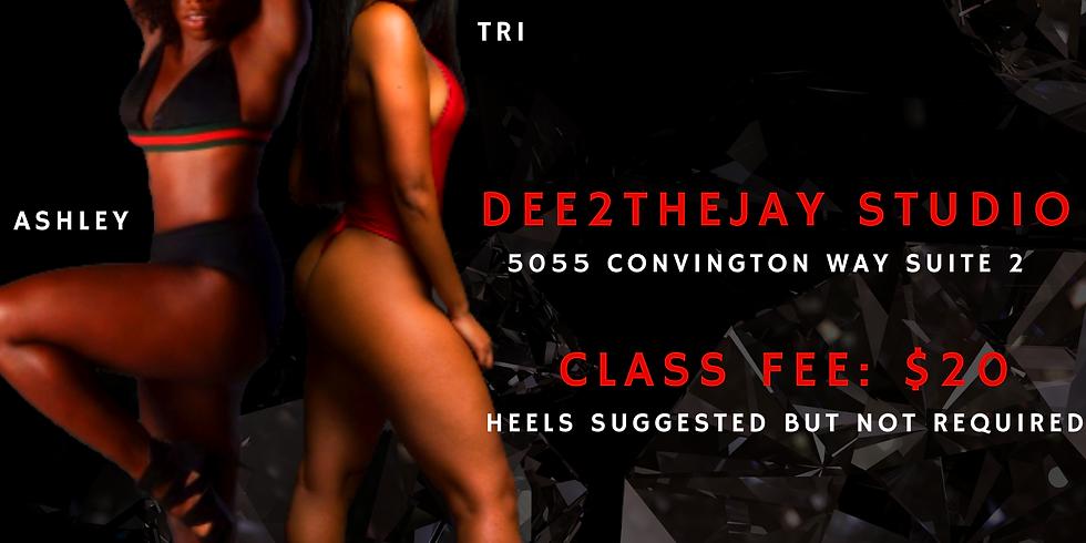 Heels Class: Ashley & Tri