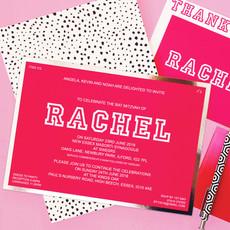 pink and silver batmitzvah invitation.jp