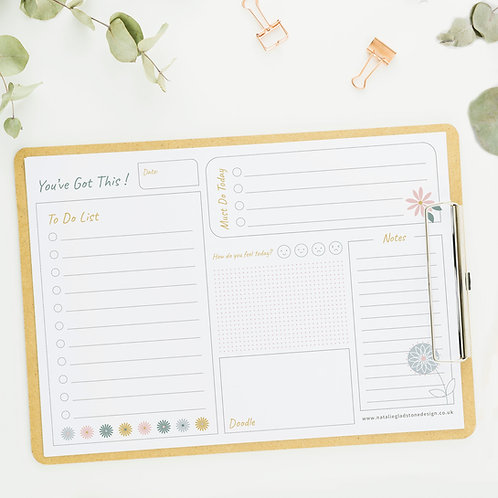 You've Got This - A4 - To Do List Pad (50 sheets)