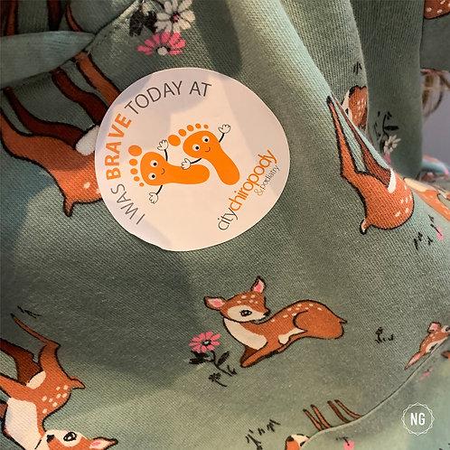 Branded Round Stickers