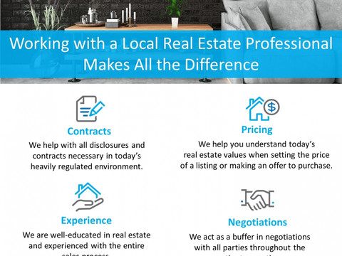 Working with a Local Real Estate Professional Makes All the Difference