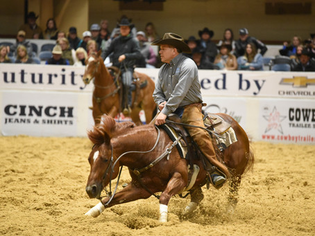 Congratulations to the 2017 NCHA OPEN FUTURITY RESERVE CHAMPIONS:
