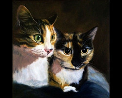 Lucy & Ethel (SOLD)