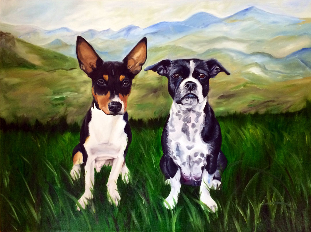 Blue Ridge Babies (SOLD)