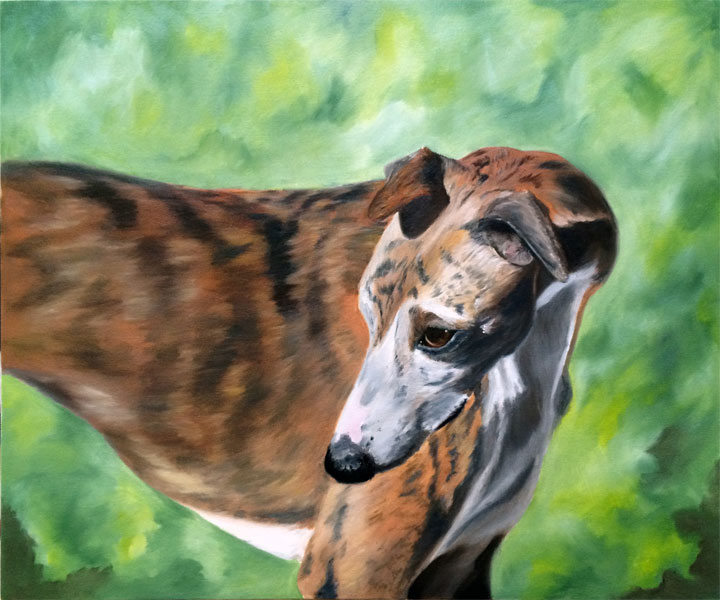 Atom the Whippet (SOLD)