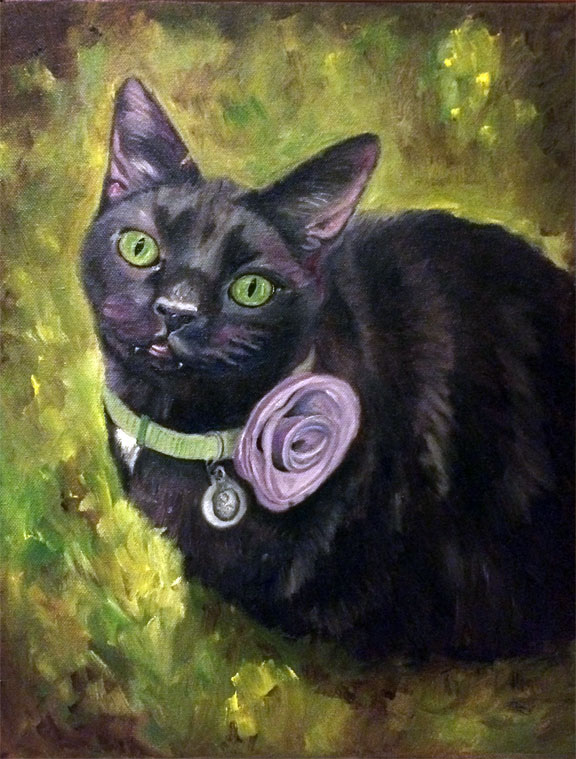 Inca the Cat - Fangs (SOLD)