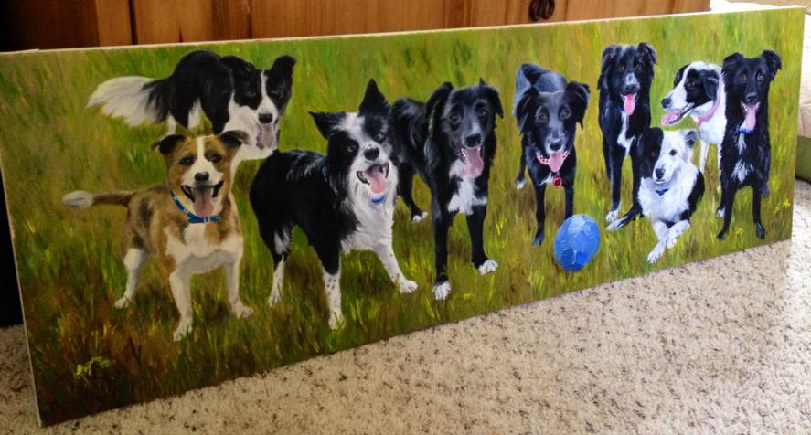 Play Ball - 9 Dog UK Family (SOLD)