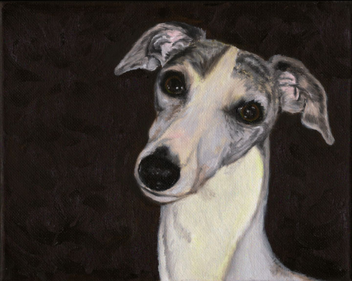 Merry the Whippet (SOLD)