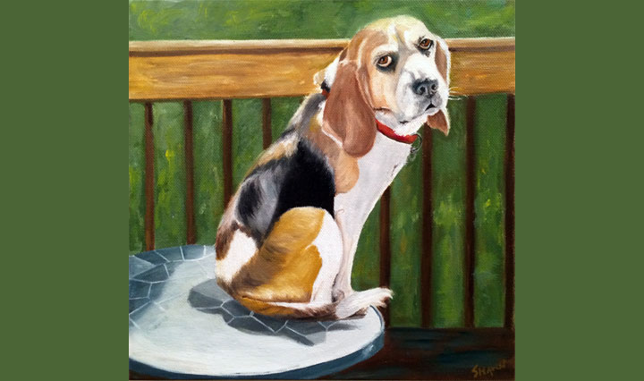 Rosie Beagle (SOLD)