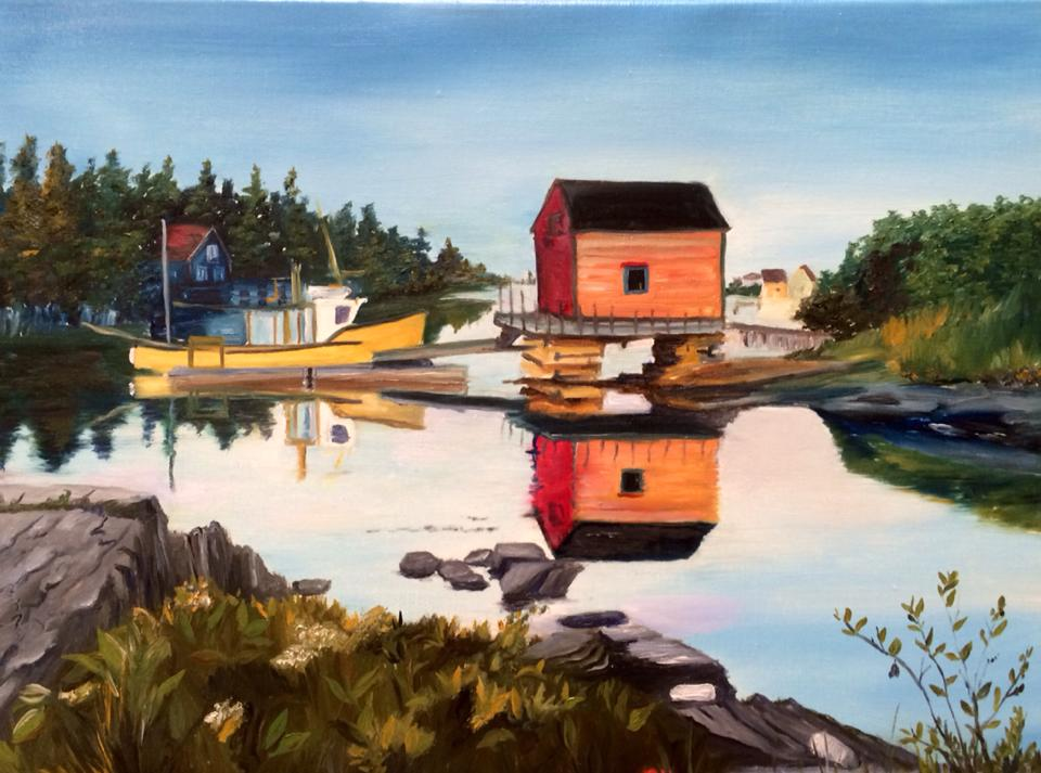 Nova Scotia Boat House (SOLD)