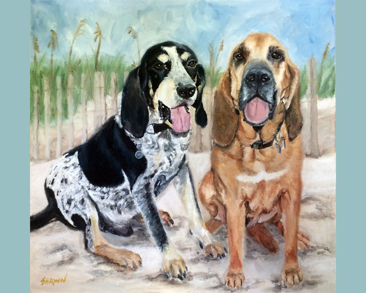 Hound Doggies (SOLD)
