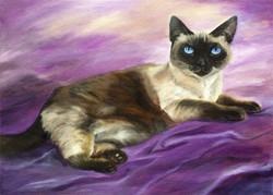 Royal Spooky the Cat (SOLD)