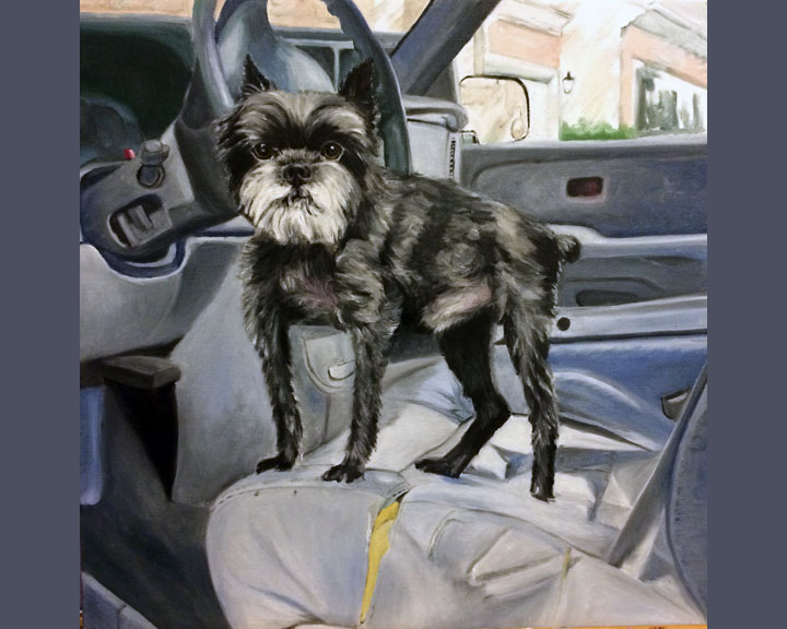 Scruffy the Affenpinscher (SOLD)