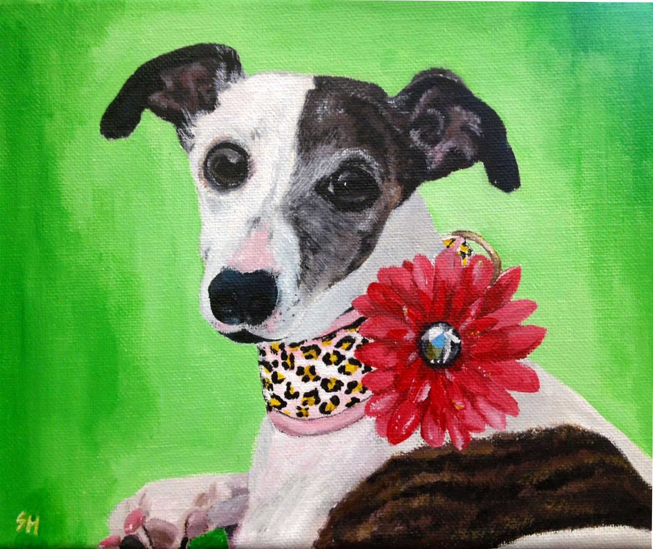 Libby the Whippet (SOLD)