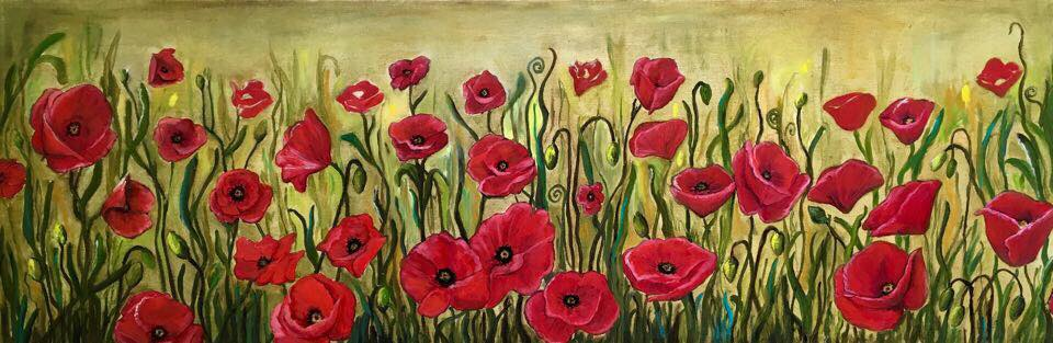 Poppies a la Hart (SOLD