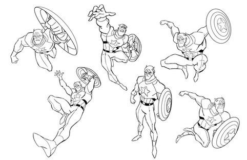 Captain America Sketches