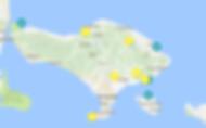 carte Bali à voir