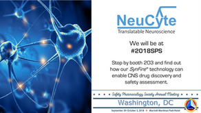 Join us at Safety Pharmacology Society 2018 Annual Meeting #2018SPS in Washington D.C. Sept. 30 - O