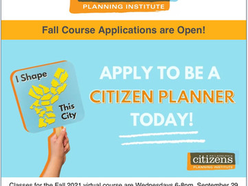 September 10th course registration deadline for people wanting to help their community