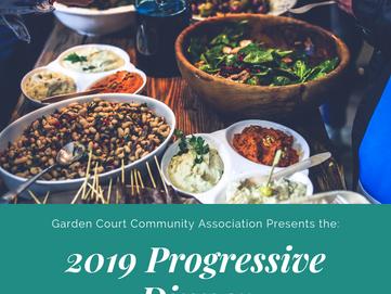 Register today for the 2019 Progressive Dinner