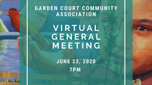 GCCA Virtual General Meeting - June 23, 2020