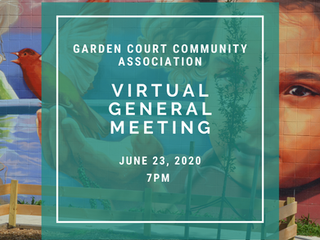 GCCA Virtual General Meeting - June 23, 2020