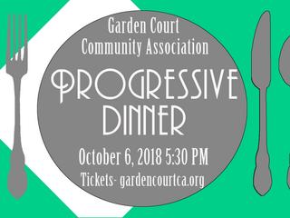 Join us for the 2018 Progressive Dinner