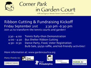 Help Transform the Garden Court Tennis Court and Community Garden!