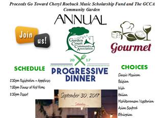Register Today for the 2017 Progressive Dinner