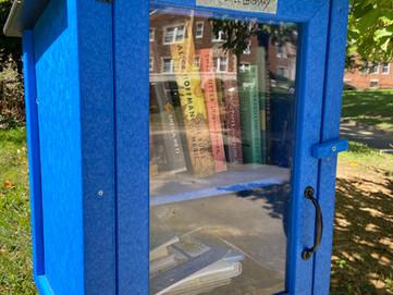 Little Free Library in Barkan Park, 4936 Spruce Street