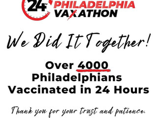 Black Doctors COVID-19 Consortium Thank YOU and Congratulations on a successful vax-a-thon!