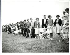 Purslow Sports - Tug of War - 1960