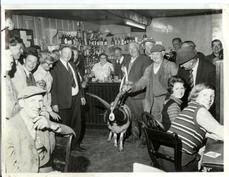 Prize Goat! Hundred House Inn - bar room