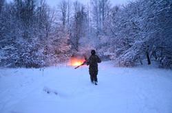 Зимний лазертаг