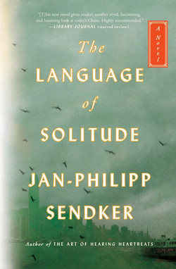 Sendker - THE LANGUAGE OF SOLITUDE - jacket