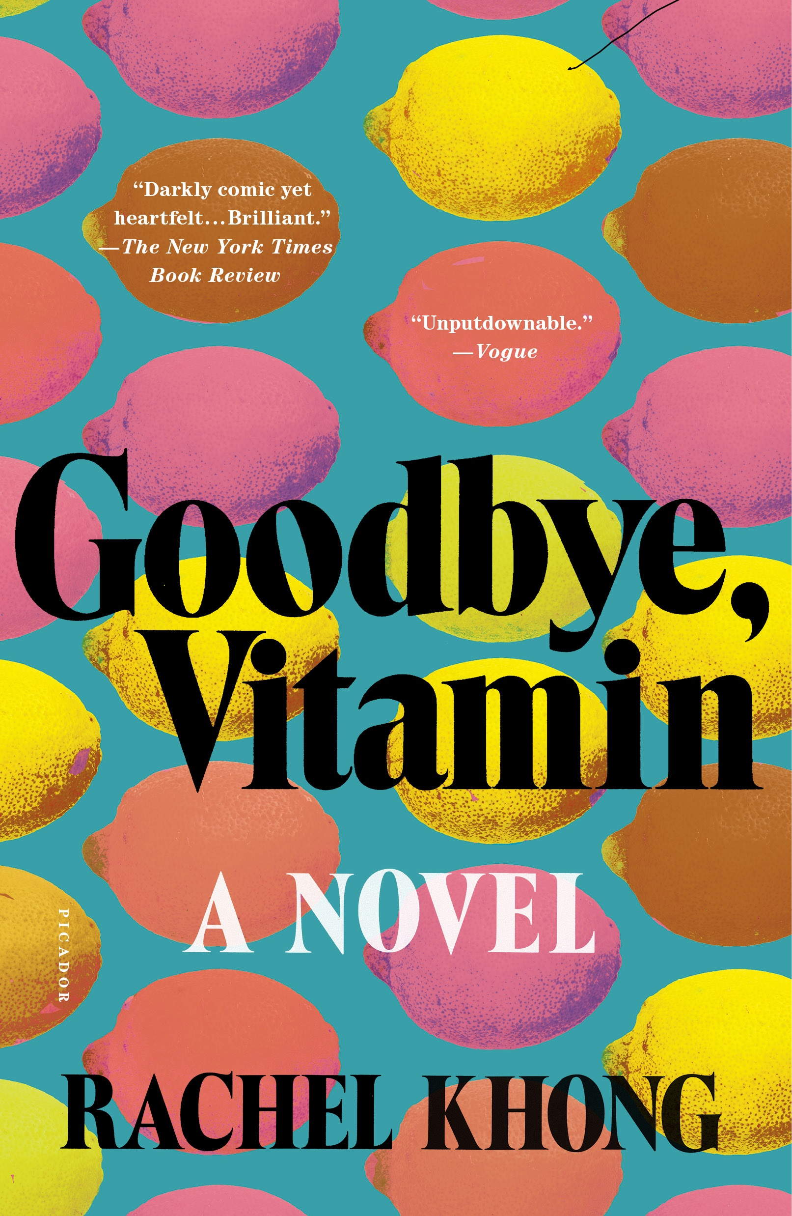 Khong - GOODBYE VITAMIN - paperback jacket