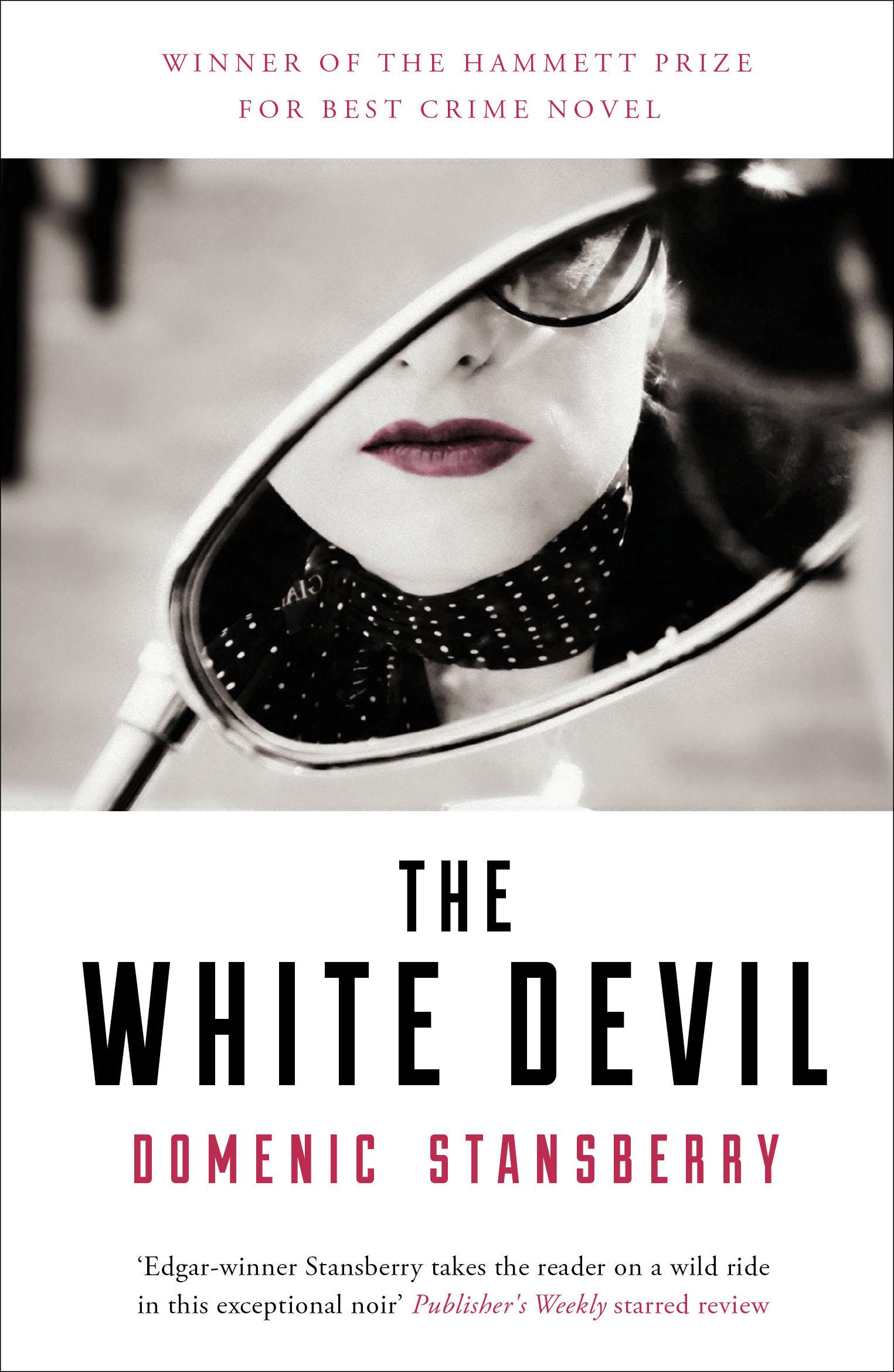 THE WHITE DEVIL - UK jacket design