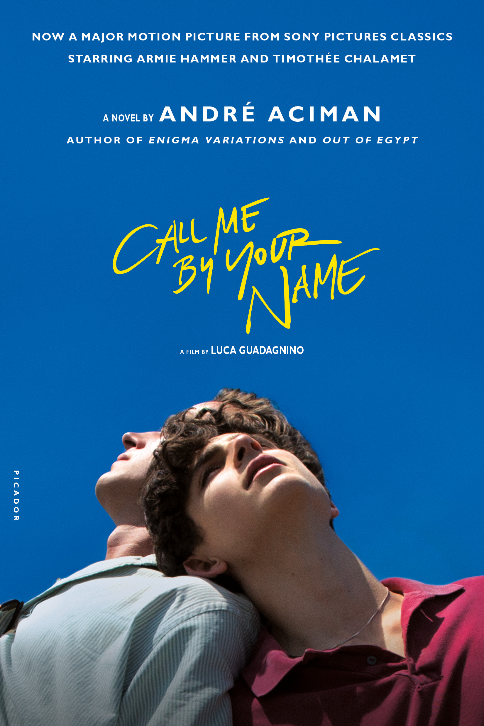 Aciman - CALL ME BY YOUR NAME - tie-in jacket