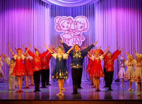 Вчера состоялся отчетный концерт Образцового хореографического ансамбля «Рябинка»