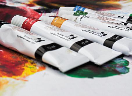 В отделе ремесел открылась выставка студии «Школа живописи»