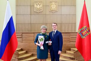 Лариса Белкова и Андрей Кульманов получили звание «Заслуженный работник культуры Красноярского края»