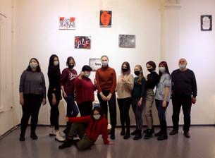 Сегодня состоялось открытие выставки «Каллиграфия»