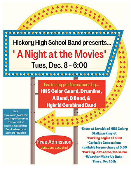 Hickory High School Band _A Night at the