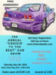 3rd Annual _Cruizin' to beat_ Car Show.j