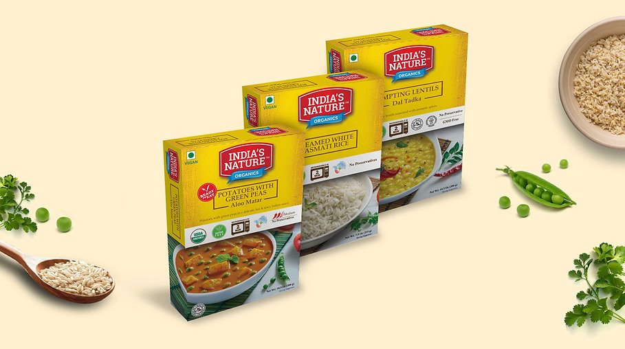 Indian food packaging