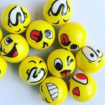Pelota goma eva con Emoji