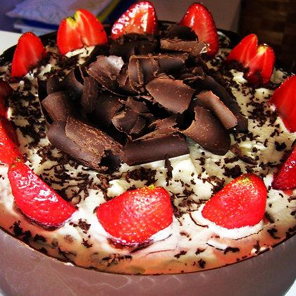 TAN RICA!!! Torta de frutillas PREMIUM (CLICK para ver opciones de tamaños)