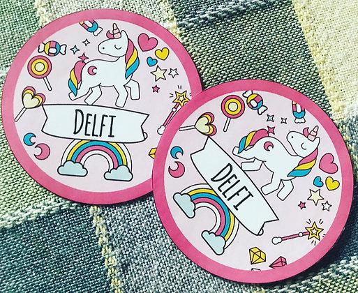 Sticker circular personalizado (Mín:20 unidades) CLICK para ver detalles)