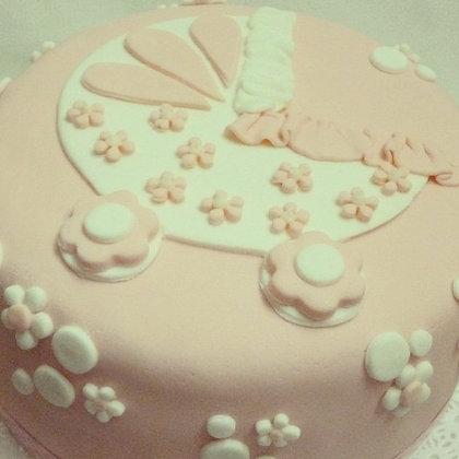 Torta modelada de 1 piso - 3 kg (envío GRATIS en Mont)